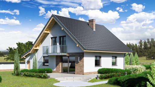 projekt Dom przy Oliwkowej 2 N