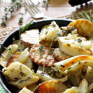 Oven Roasted Potatoes and Fennel Recipe