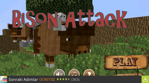 Bison Attack - Texas Craft