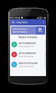 Easy Block Call & SMS Blocker screenshot 3