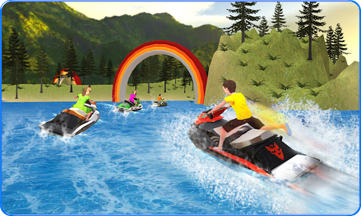 Kids Power Boat Racing : Impossible Tracks - náhled