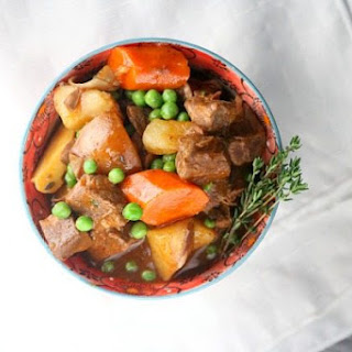 Hearty Slow Cooker Beef Stew.