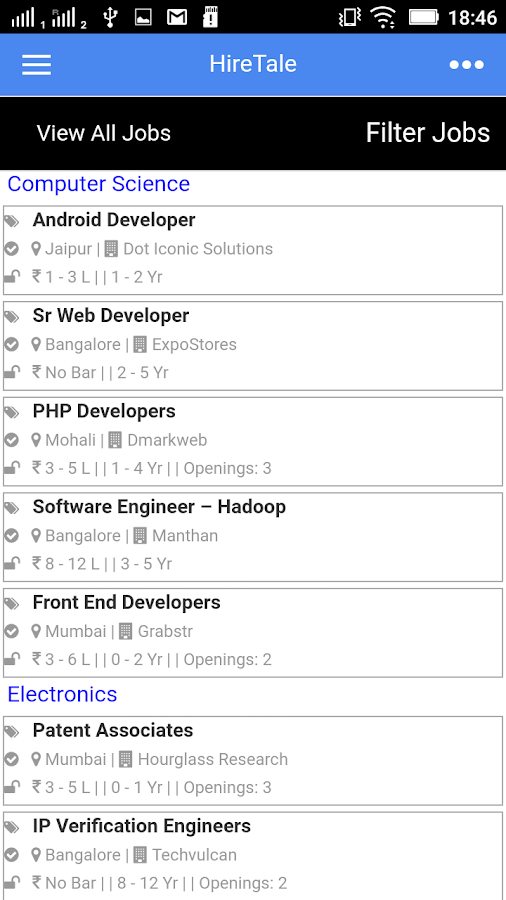 HireTale.com - Top Jobs- screenshot