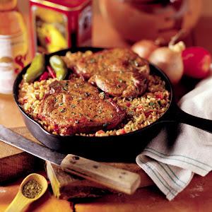 Chuletas Contentas (Happy Pork Chops)