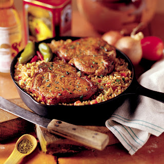 Chuletas Contentas (Happy Pork Chops)
