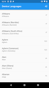 App Language List APK for Windows Phone