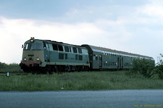 Photo: SU45-111, Toruń Główny - Grudziądz {szlak Toruń Wschodni - Ostaszewo Toruńskie; 2002-05-07}