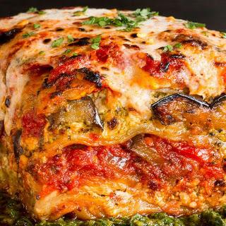 Roasted Vegetable Lasagna Pesto Recipes