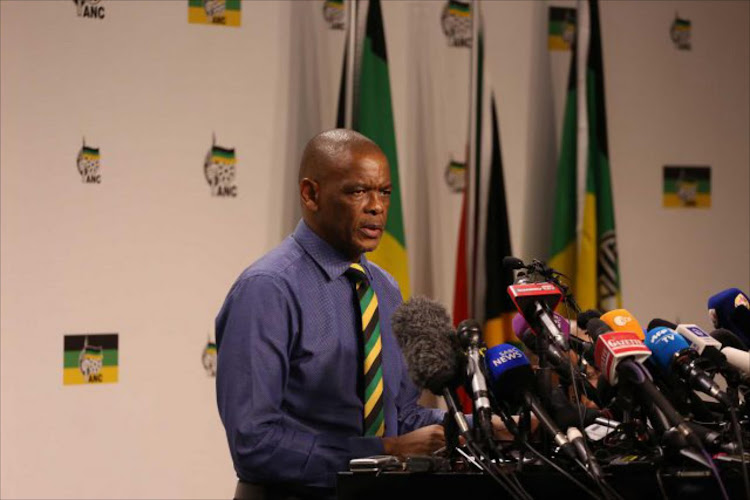 "Magashule warned party delegates against an ""onslaught"" against the ANC ."