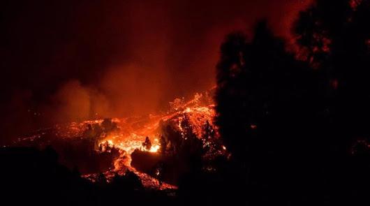 El volcán de Cumbre Vieja abre un nuevo foco de emisión
