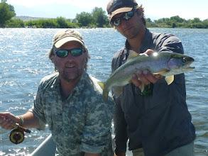 Photo: Madison River Rainbow with John McClure