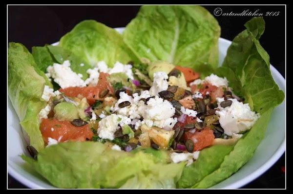 Mexican Citrus Salad With Avocado Recipe