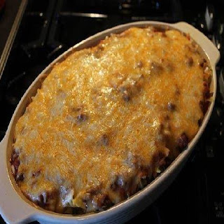 Poor Man Husband Casserole.