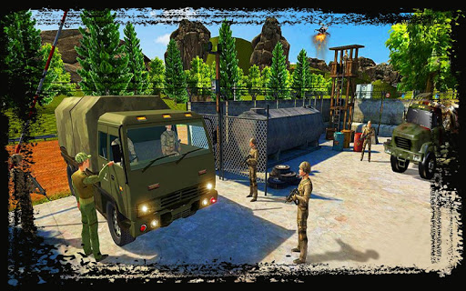 Army Truck Simulation 2018 : Best truck games ss1