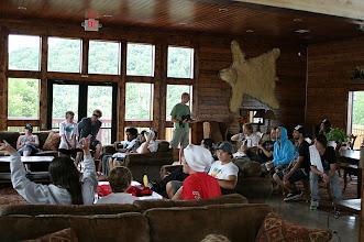 Photo: inside the lodge