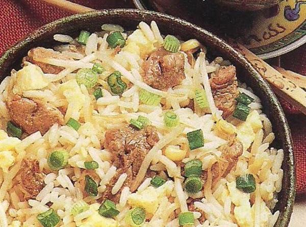 Fried Pork 'n Rice Recipe