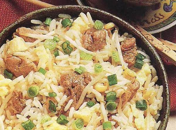 Fried Pork 'n Rice Recipe