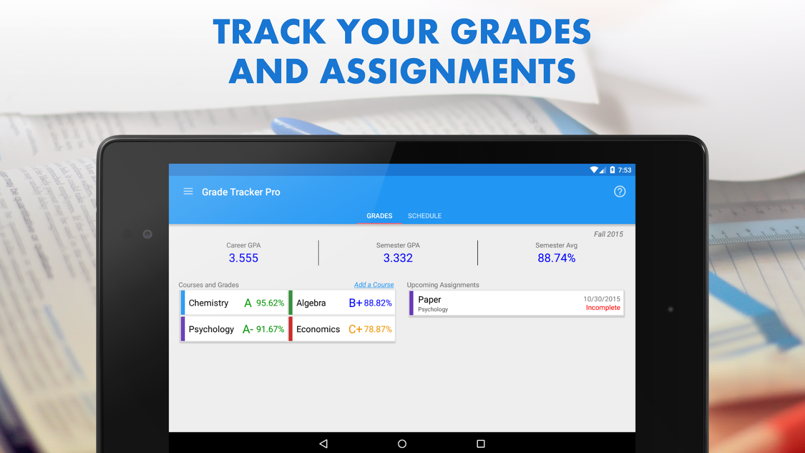 grade my essay online grade tracker pro android apps on  grade tracker pro android apps on google play grade tracker pro screenshot