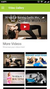 Gym App screenshot 7