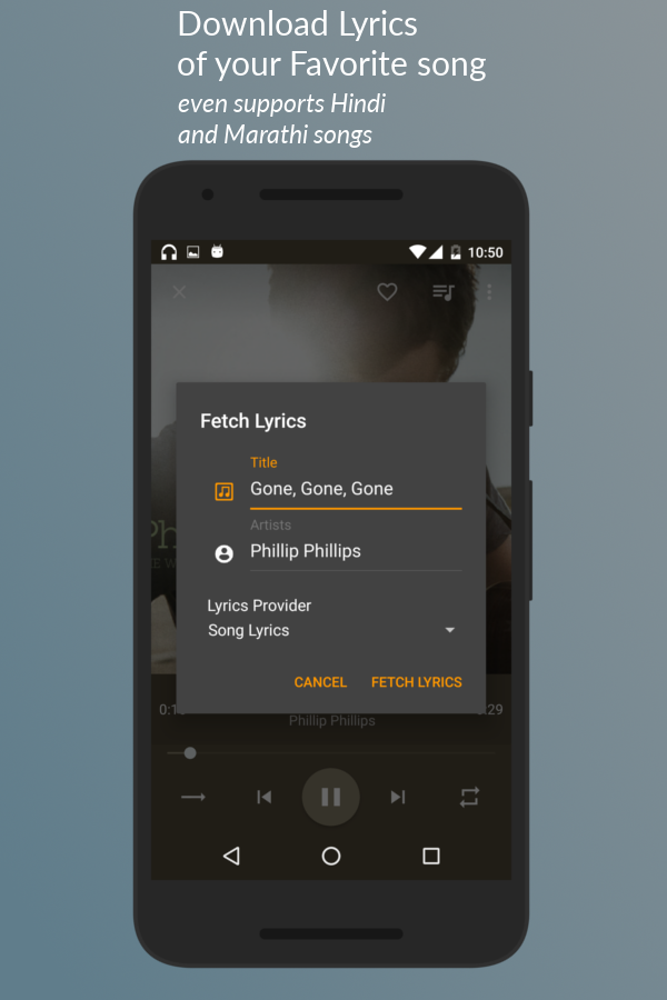 Jair Music Player- screenshot