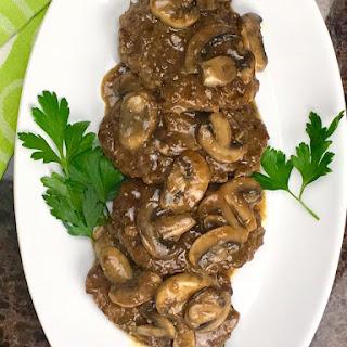 Salisbury Steak with Mushroom Onion Gravy Recipe