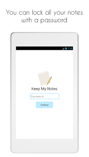 Keep My Notes: Notebook, Journal Screenshot
