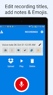 VoiceDrop (Audio To Dropbox) screenshot
