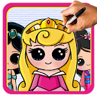 How to Draw Disney Characters ( Princess ) icon
