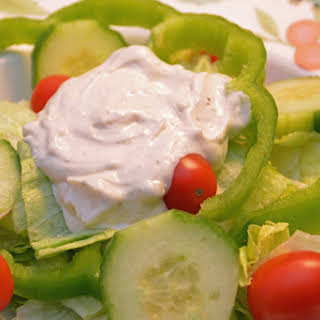 Creamy Blue Cheese Dressing.