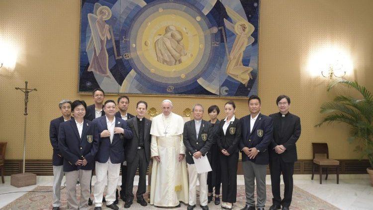 Đức Thánh Cha nói, 'Tôi dự định đến thăm Nhật bản vào năm tới'