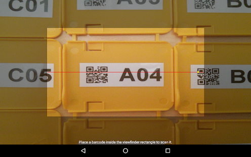 Barcode/NFC Scanner Keyboard- screenshot thumbnail