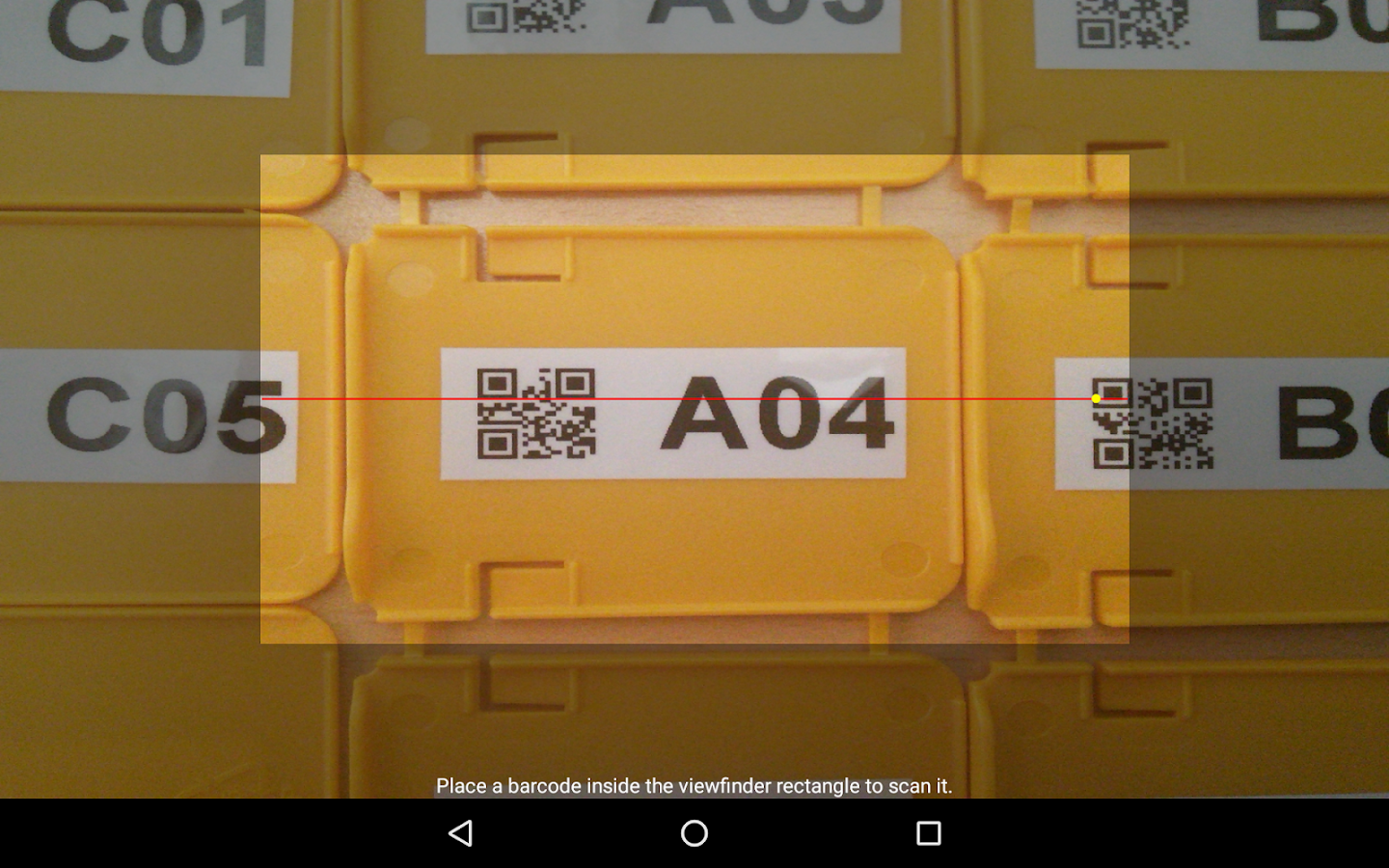 Barcode/NFC Scanner Keyboard- screenshot