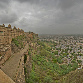 Gwalior Fort, India by Sudhir Chandra - Buildings & Architecture Statues & Monuments