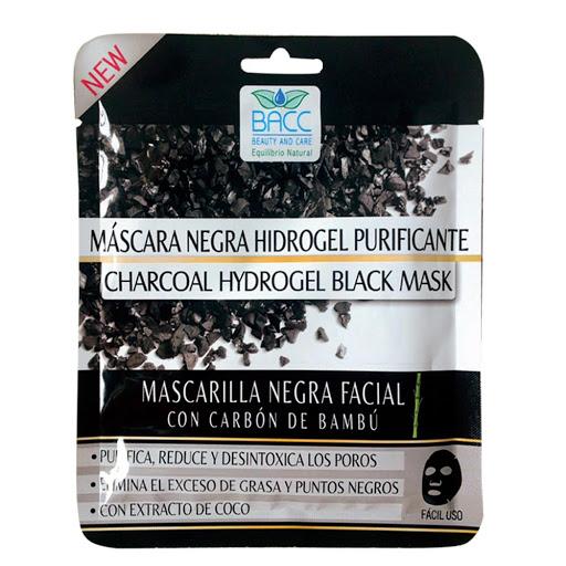 Mascarilla Facial Bacc Negra Hidrogel 1Und