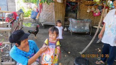 Photo: Fah and Fon, twins in Sanpatong