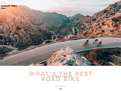 GRAN FONDO Cycling Magazine- screenshot thumbnail