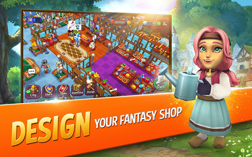 Shop Titans: Epic Idle Crafter, Build & Trade RPG modavailable screenshots 8