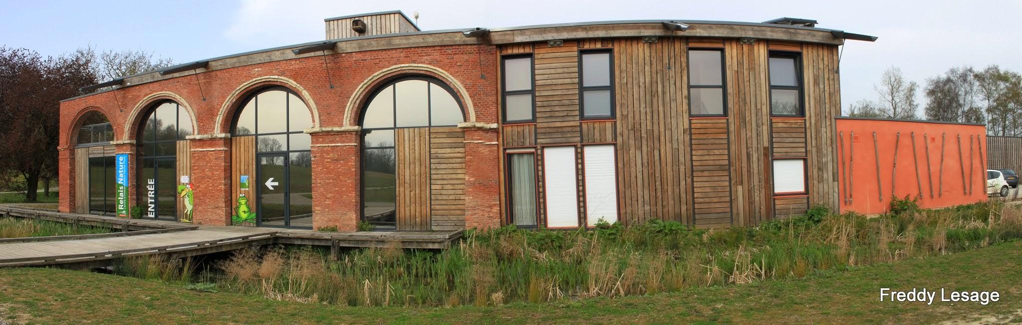 """Photo: De oude boerderij """"Montblond"""" werd omgevormd tot een natuurcentrum"""
