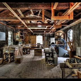 Carpentry workshop by Svein Hurum - Uncategorized All Uncategorized