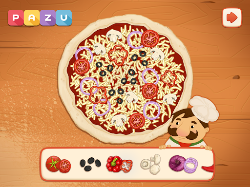 Pizza maker - cooking and baking games for kids 1.03 screenshots 12