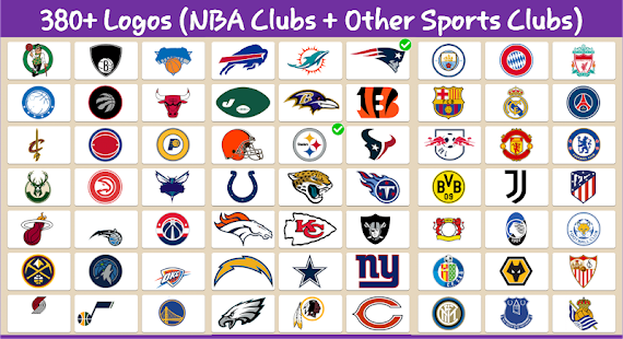 NBA Teams Logo Quiz: National Basketball Teams 0.4 APK + Mod (Free purchase) for Android