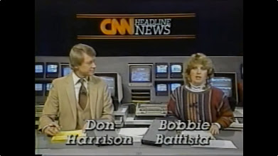 Photo: Don Harrison, CNN Headline News & Bobbie Battista, CNN Headline News