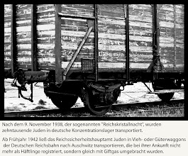 """Photo: What happened in Germany after 9 November 1938, the so-called """"Reichskristallnacht""""?"""