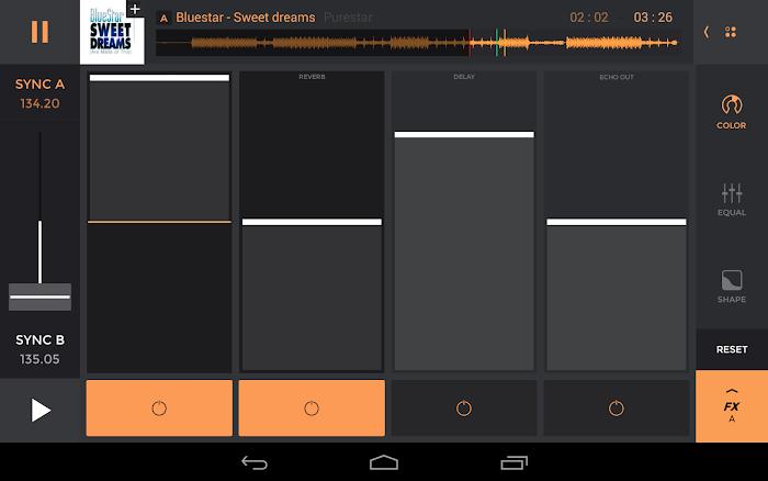 edjing PRO - Music DJ mixer - screenshot