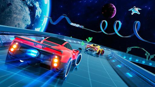 Light Car Stunt: Stunt Car Racing Games  captures d'écran 1