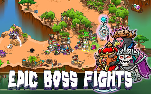 Crazy Defense Heroes: Tower Defense Strategy TD 1.9.9 screenshots 13
