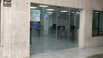 Sede de Aguas de El Ejido, participada por Agua y Gestión (70%) y Ayuntamiento (30%).