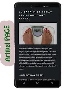 Diet Sehat Cepat Alami - náhled