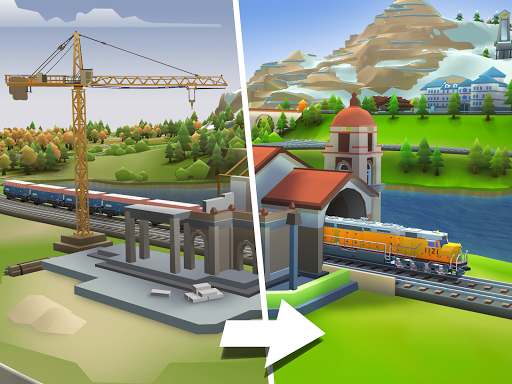 Train Station 2: Rail Tycoon & Strategy Simulator android2mod screenshots 7