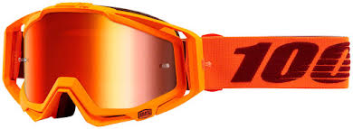 100% Racecraft Goggle: Mernio with Mirror Red Lens, Spare Clear Lens Included Thumb